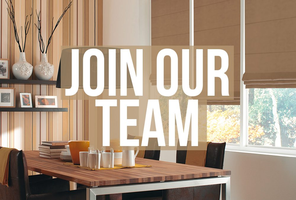 We're recruiting!